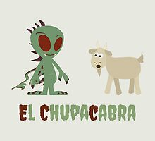 Cute & Funny El Chupacabra design by Eggtooth