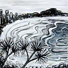 Coolum Beach I by Kylie Blakemore