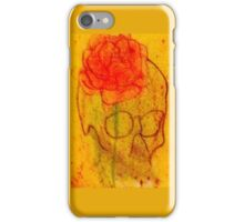 Rose upon A skull iPhone Case/Skin