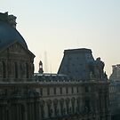 View from the Louvre by Kylie Blakemore