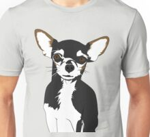 Zoe the Chihuahua Cartoon Portrait Unisex T-Shirt