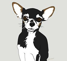 Zoe the Chihuahua Cartoon Portrait Unisex T-Shirt