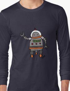 Robot tweeks Long Sleeve T-Shirt