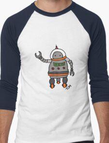 Robot tweeks T-Shirt