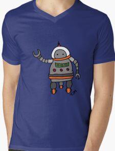 Robot tweeks Mens V-Neck T-Shirt