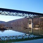 i 68 interstate bridge by melynda blosser