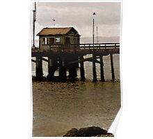 Fort Flagler Fishing Shack Poster
