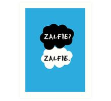 Zalfie - TFIOS Art Print