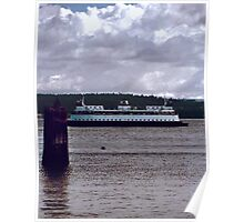 Washington State Ferrys - THE Way to Go Poster