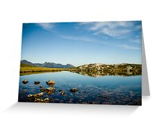 The mirror of Harstad Greeting Card