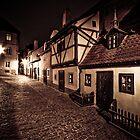 Golden Lane, Prague, Czech Republic by Petr Klapper