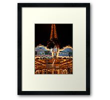Paris Icons Framed Print