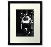 Lost and Afraid in the Big City Framed Print