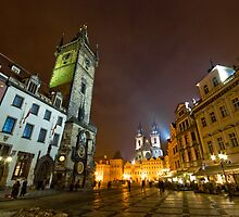 Old Town Square, Prague, Czech Republic by Petr Klapper