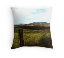 Way Out West I Throw Pillow