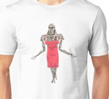 Red Dress Cylon Unisex T-Shirt