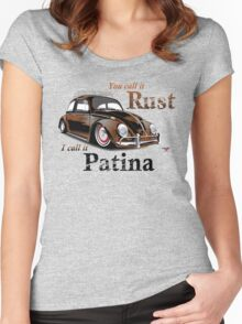 It's Patina Women's Fitted Scoop T-Shirt