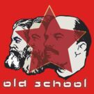 MARX ENGELS LENIN OLD SCHOOL  by SofiaYoushi
