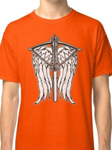 Angel Wings and Crossbow (Clean) Classic T-Shirt