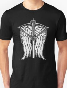 Angel Wings and Crossbow (Clean) T-Shirt