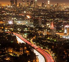 Hollywood Bowl Overlook by jswolfphoto