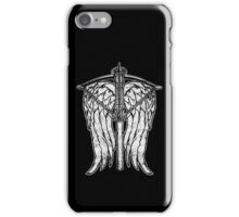 Angel Wings and Crossbow (Dirty) iPhone Case/Skin