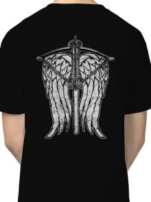 Angel Wings and Crossbow (Dirty) Classic T-Shirt
