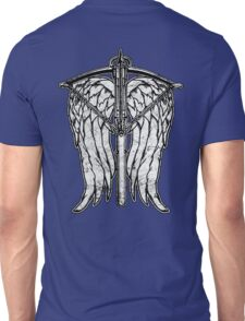 Angel Wings and Crossbow (Dirty) Unisex T-Shirt