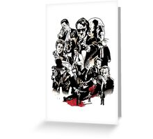 RESERVOIR DOGS Greeting Card