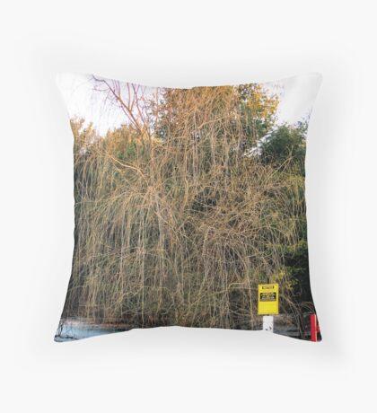 Dead Willow Throw Pillow