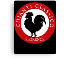 Black Rooster Florence Chianti Classico  Canvas Print