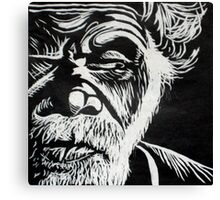 Aboriginal Elder Canvas Print