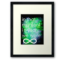 wallflower  Framed Print