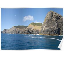 Cape Brett & Percy Island at Bay of Islands - New Zealand Poster