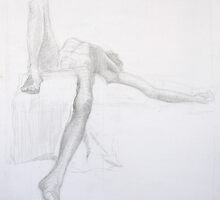 Life Drawing 3 by Rosie Call