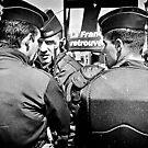 Police de l'émeute (Riot Police), Paris. by Frank  McDonald