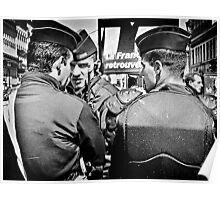 Police de l'émeute (Riot Police), Paris. Poster