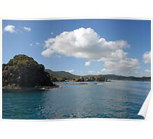 Scenic Bay of Islands Poster