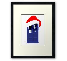 Santa Who Framed Print