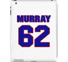 National football player Bill Murray jersey 62 iPad Case/Skin