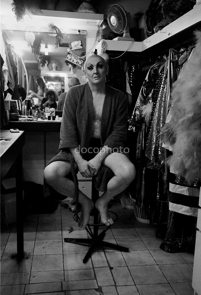 Drag show compere by docophoto