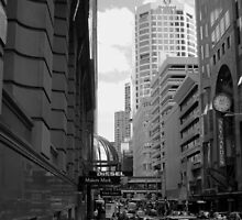 Downtown - Sydney by Noel Elliot
