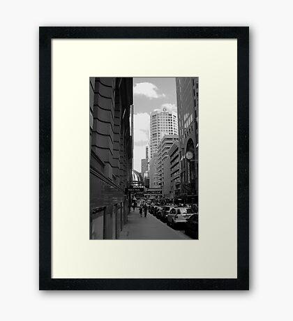 Downtown - Sydney Framed Print