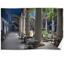 Old Havana architecture Poster