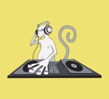 Monkey is a DJ Kids Clothes