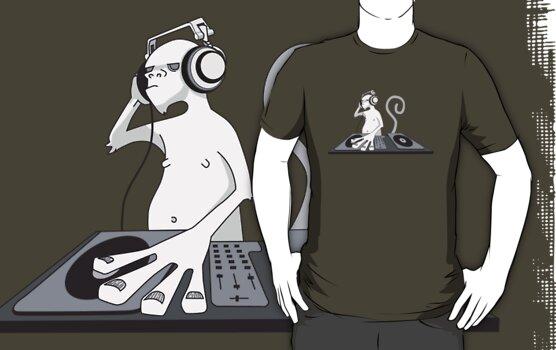 Monkey is a DJ by Damien Mason