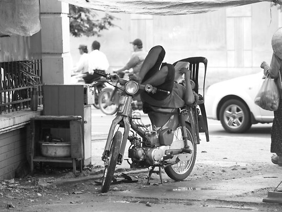 Transportation in Ho Chi Minh City by SunnyJames