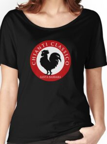 Black Rooster Santa  Barbara Chianti Classico Women's Relaxed Fit T-Shirt