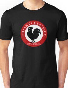 Black Rooster Santa  Barbara Chianti Classico Unisex T-Shirt