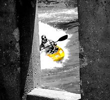 Concrete Kayaker  by Jon  Johnson
